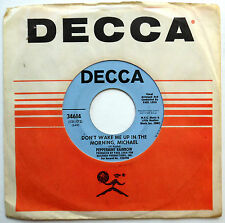 PEPPERMINT RAINBOW 45 Don't Wake Me Up In The Morning PROMO Pop PSYCH 1969 w2800