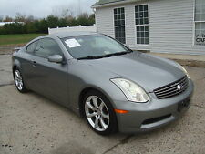 Infiniti : G35 G35 Coupe Navigation Bose Salvage Rebuildable