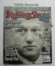 ROLLING STONE MAGAZINE - Issue 799 November 12th 1998 - Bill Clinton / R.E.M
