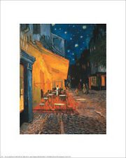 """""""Cafe Terrace at Night"""" by Vincent van Gogh - Fine Art Print 20 x 16"""