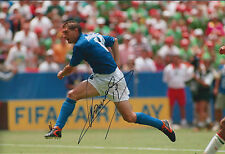 Daniele MASSARO SIGNED COA Autograph 12x8 Photo AFTAL ITALY Scores in World Cup