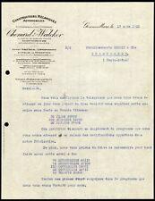 █ Facture 1925 CHENARD & WALCKER Constructions Automobiles à Gennevilliers █