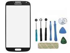 Genuine Glass Black Replacement Front Outer Screen For Samsung Galaxy S4 i9500