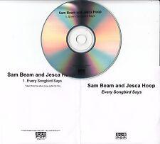 SAM BEAM & JESCA HOOP Every Songbird Says 2016 UK 1-track promo test CD