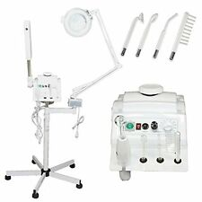 3 in 1 Aromatherapy Facial Steamer, 5x Magnifying Lamp & High Frequency Machine