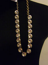 J CREW CRYSTAL VENUS FLYTRAP NECKLACE,A BEST SELLER! NEW WITH TAG. A BEAUTY !!