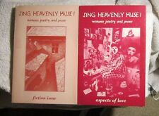 Sing Heavenly Muse! Women's Poetry and Prose aspects of love fiction #'s 12 & 8