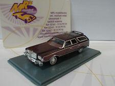 """NEO 87561 - Chrysler Town und Country Baujahr 1977 """" dunkelrot metallic """" 1:87"""