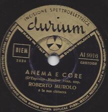 Roberto Murolo di Napoli: tu duorme AMMORE + ANEMA E CORE