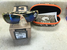 New Costa Tuna Alley Sunglasses, 580G Blue Mirror, MOSGB Camo Nylon TA65OBMGLP