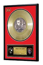 Dead Or Alive Pete Burns You Spin Me Framed Gold Disc Display Vinyl (45rpm)