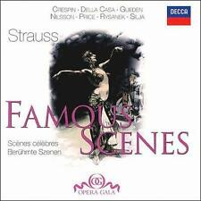 Strauss: Famous Scenes 2008 by Solti; Karajan; Vienna Philharmonic Or Ex-library