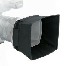 New PO12 Lens Hood designed for Panasonic AG-AC130 and Canon XF300.