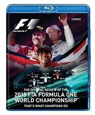 F1 2015 FIA Formula One World Championship Official Review Formel 1 Blu-ray NEU