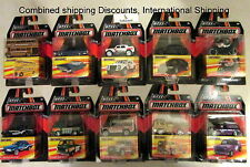 J3 2016 Matchbox Best of the World - Series 1 Set 10 Cars Complete Set