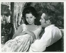 SOPHIA LOREN PAUL NEWMAN  LADY L. 1965 VINTAGE PHOTO ORIGINAL #1