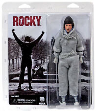 Rocky Balboa Sylvester Stallone Sweatsuit Trainings Anzug Action Figur NECA