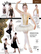 Jalie Ballet / Dance Leotard & Pull-on Tutu Skirt 22 Sizes Sewing Pattern 2915