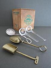 Vintage Tea Infuser Filter Strainer Tea Caddy Lot