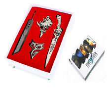 Final Fantasy Sword Cosplay Metal Toy Necklace Pendant Keychain New In Box A#