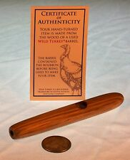 Smoking Pipe made from Wild Turkey barrel blank vintage whiskey limited edition