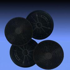 4 Aktivkohlefilter ST1 für Dunstabzugshaube Baumatic F70.2SS , F90.2SS, F100.2SS