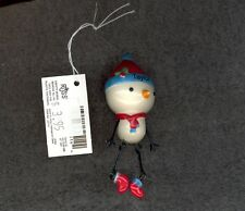 Snowman Christmas Tree Ornament by Russ-Decoration-Stocking Stuffer-TAYLOR