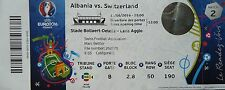 Ticket 11.6.2016 Herzegowina Albania-Switzerland suiza match 2 en lens