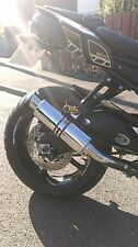 YAMAHA  FZ8 FAZER 800  Polished Stainless GP PRO RACE MTC Exhaust