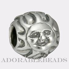 Authentic Chamilia Sterling Silver Sun Bead  *RETIRED*  GA-52