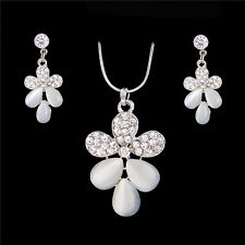 Amazing 18k Gold Filled Austrian Crystal jewelry sets necklace/earrings