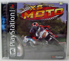 SEALED Black Label XS Moto (Sony PlayStation 1, 2002) 12 Tracks GP Motorcycle 2