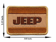 Jeep 4x4 Car Off Road V01 Applique Iron on Patch Sew For T-shirt Jeans Cap Hat