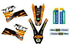 KTM GRAFICHE STICKERS DHL EXC SX 2003 2004 2005 2006 2007