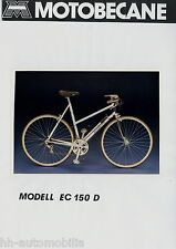Pressefoto Foto Motobecane EC150D Fahrrad 1984 press photo de presse bicycle