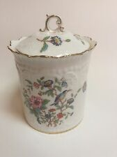 Aynsley Pembroke Biscuit Barrel Jar with Lid
