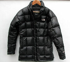 The North Face 600 Metropolis Women's Black Down Jacket Coat M Medium (REPAIRED)