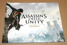Assassin 's Creed Unity Press Kit (30,5x24,5cm/26 pagine/Pages)