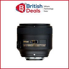 Nikon AF-S NIKKOR 85mm f/1.8G Lens - Portrait Lens BRAND NEW - In UK