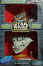STAR WARS MICRO MACHINES ACTION FLEET REBEL SNOWSPEEDER SERIES ALPHA PROTOTYPE