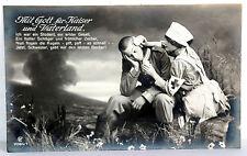 Historische BILD-POSTKARTEN 7080/1 - Mit Gott für Kaiser und Vaterland
