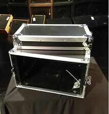 "CCC 6 Space 19"" Wide 20"" Deep Equipment Rack Road Tour Flight Case"