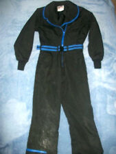 RETRO LIBERTY BELL Womens One Piece Ski Board Snow Suit INSULATED Black/Blue 5/6