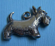 Hand and Hammer scottie dog sterling charm