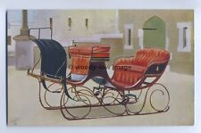Q1684 - Queen Victoria's Sleigh ( 4 seater ) @ Windsor Castle - Royalty Postcard