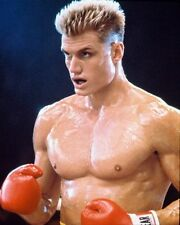DOLPH LUNDGREN AS IVAN DRAGO FROM ROCKY IV 8X10 PHOTO