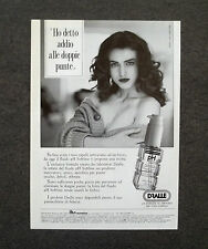 G548 - Advertising Pubblicità - 1989 - DRALLE FLUIDO PH SOFTLINE