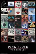 Pink Floyd - Singles Cover Art Collage POSTER 61x91cm NEW * Emily Play The Wall
