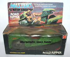 1983 Mattel He-Man MOTU Road Ripper Sealed In Box (Worn)