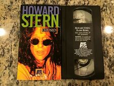 HOWARD STERN EXPOSED RADIO REBEL RARE VHS! NOT ON DVD A&E BIO DOCUMENTARY 1996!